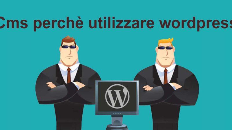 cms utilizzare wordpress realizzazione siti web