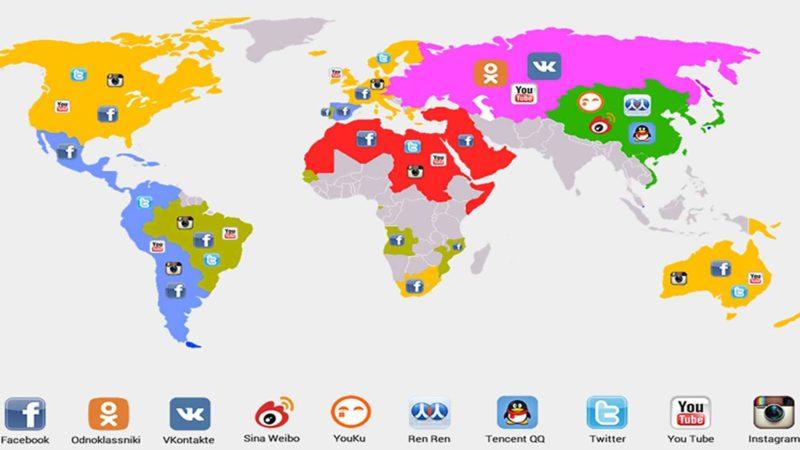 social media quali sono i più utilizzati nel mondo