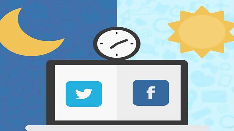 social network migliori orari per postare