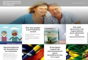 Aposentadoria Brasilerios no exterior blog informazioni portoghese
