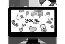 grafica web social media