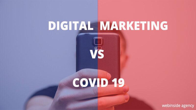 Digital marketing e covid-19 perchè è fondamentale per le aziende essere online